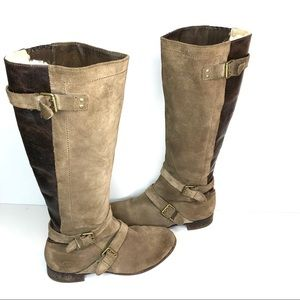 UGG Cydnee Shearling Knee High Boots